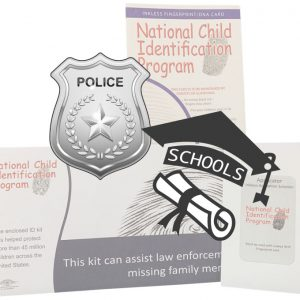 Child ID Kits for School and Law Enforcement